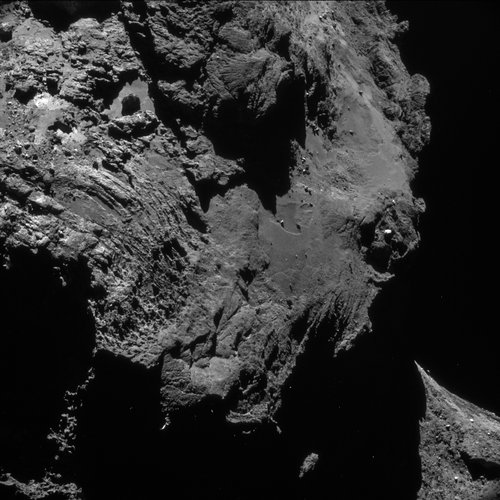 Comet on 1 May 2016 – NavCam