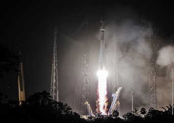 Galileo liftoff
