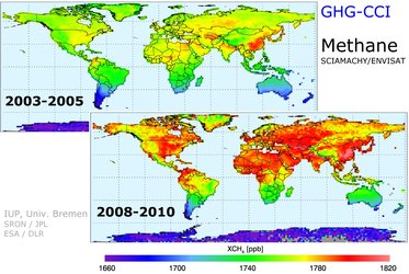 Methane increase