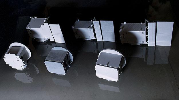 Model progress of Proba-3