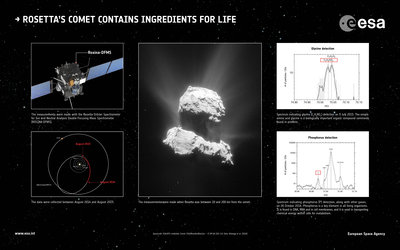 Rosetta's comet contains ingredients for life