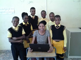 Satcoms in rural primary schools
