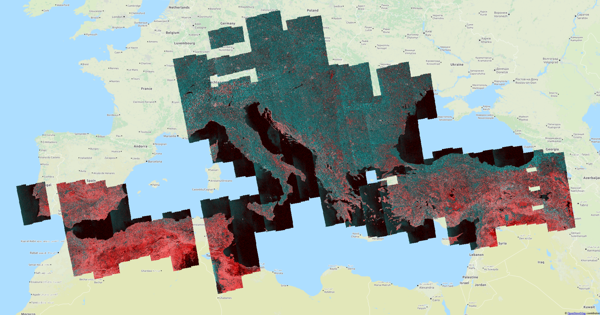 Spotting geohazards with Sentinel-1