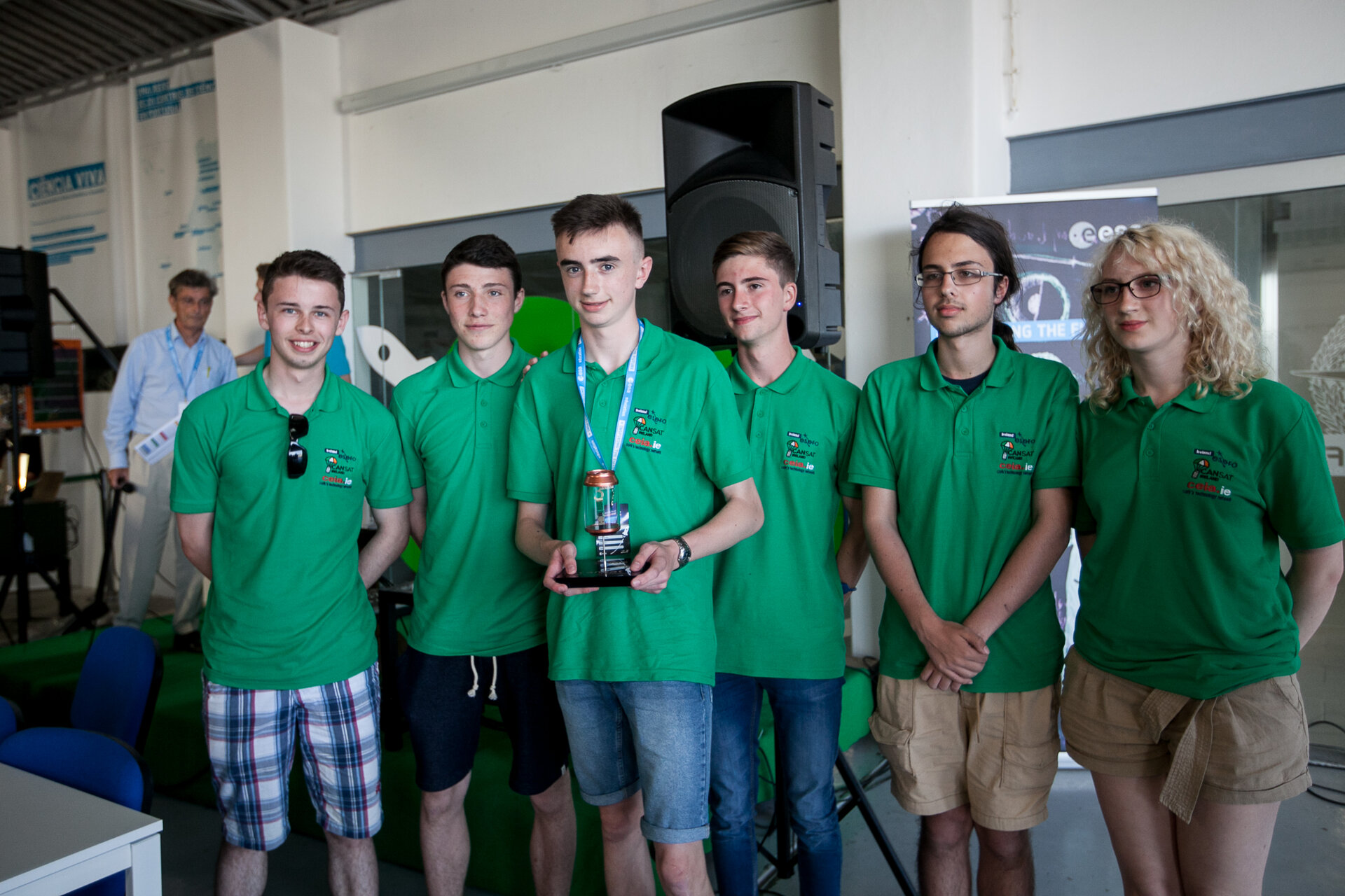 ConfeyCan team from Ireland won 3rd place