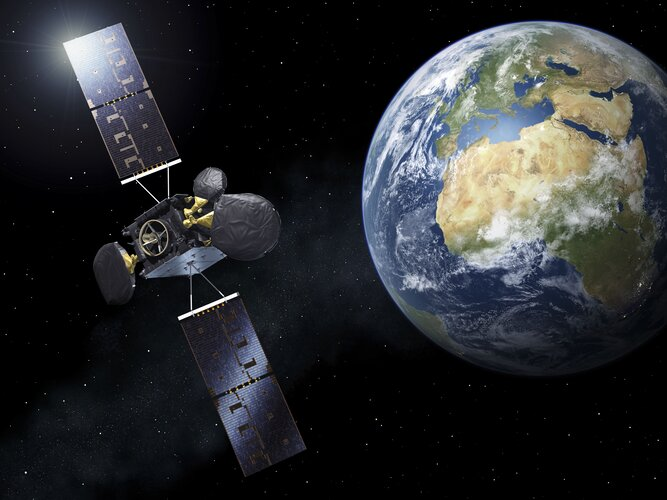 Second space data highway satellite set to beam