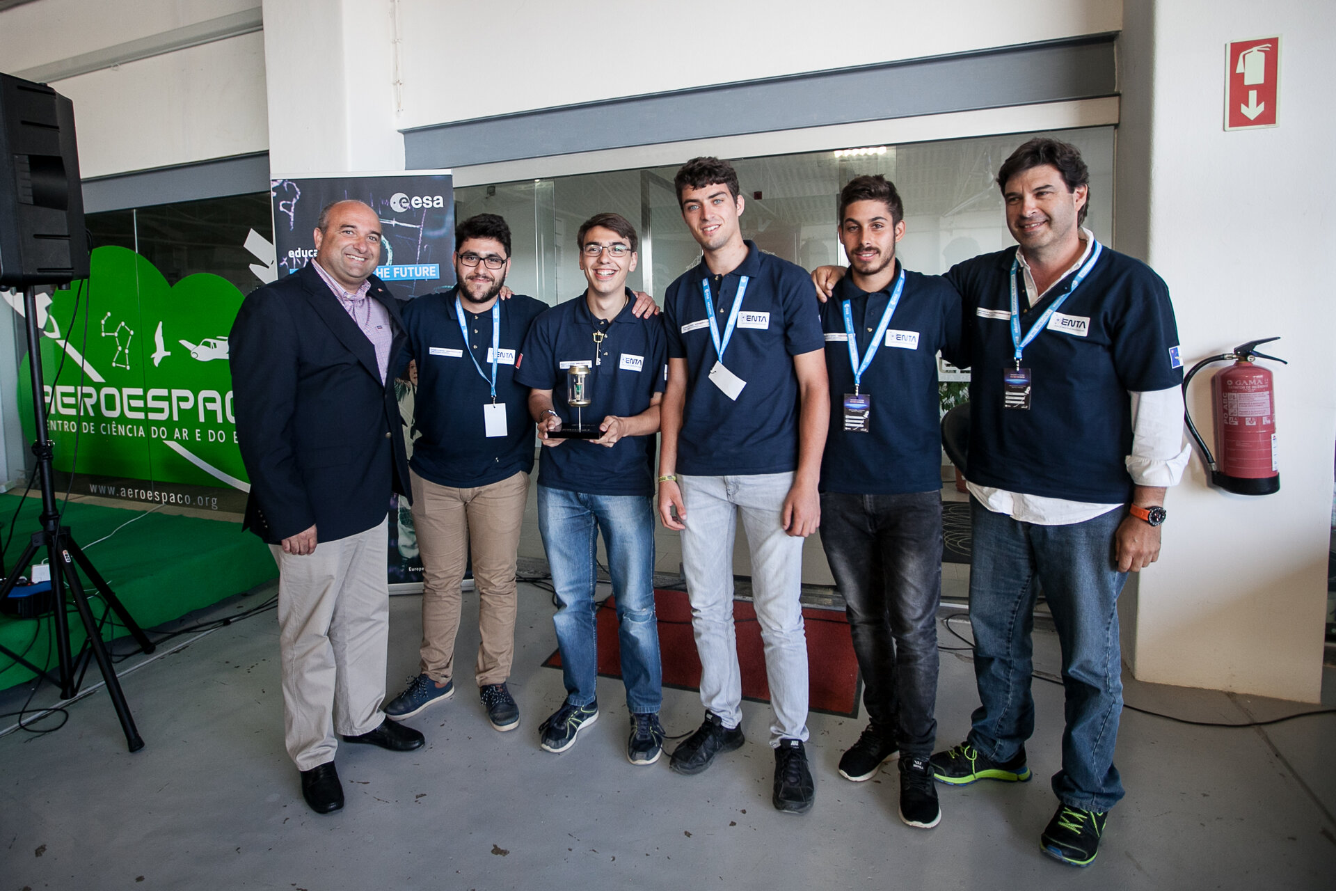 ENTA SAT2 team won first prize