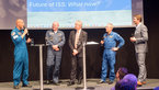[3/14] ESA astronauts during the presentation 'ISS Benefits: What's in it for us'