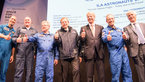 [29/36] Jan Wörner with ESA astronauts