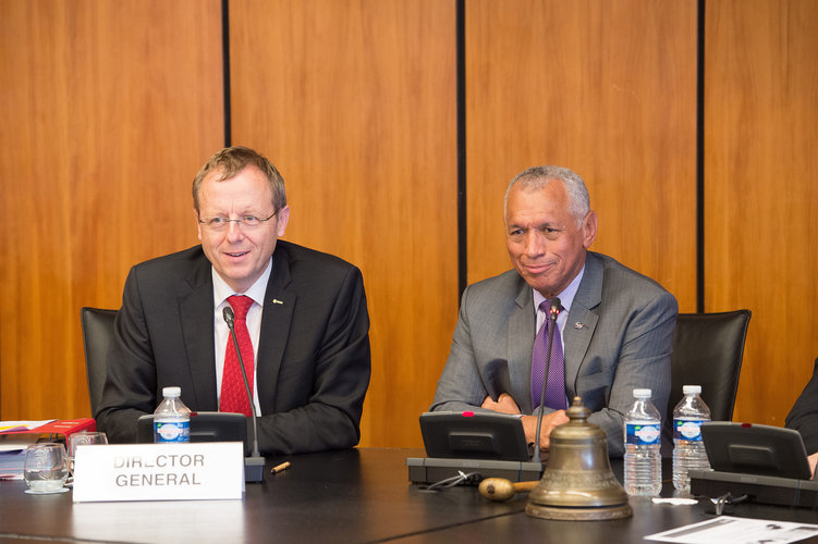 NASA Administrator Charles F. Bolden Jr and ESA Director General Jan Wörner