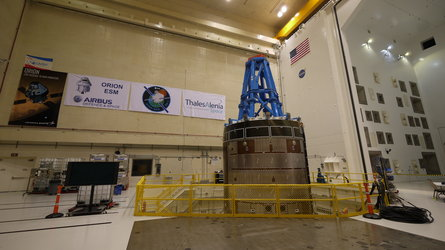 Orion service module test article