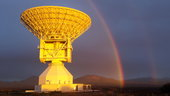 This beautiful image was captured on Tuesday by Diego Aloi, working as part of the local engineering team at Malargüe station. The dish is located 30 km south of the city of Malargüe, about 1200 km west of Buenos Aires, Argentina.