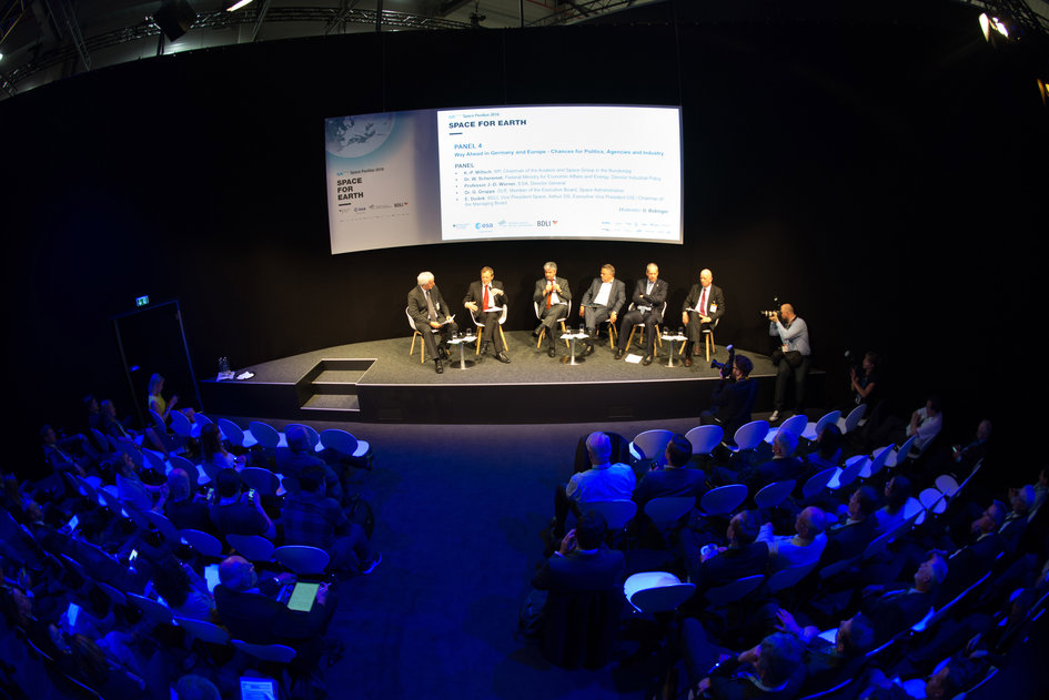 Panel discussion on 'Way Ahead in Germany and Europe, Opportunities for Politics, Agencies and Industry'