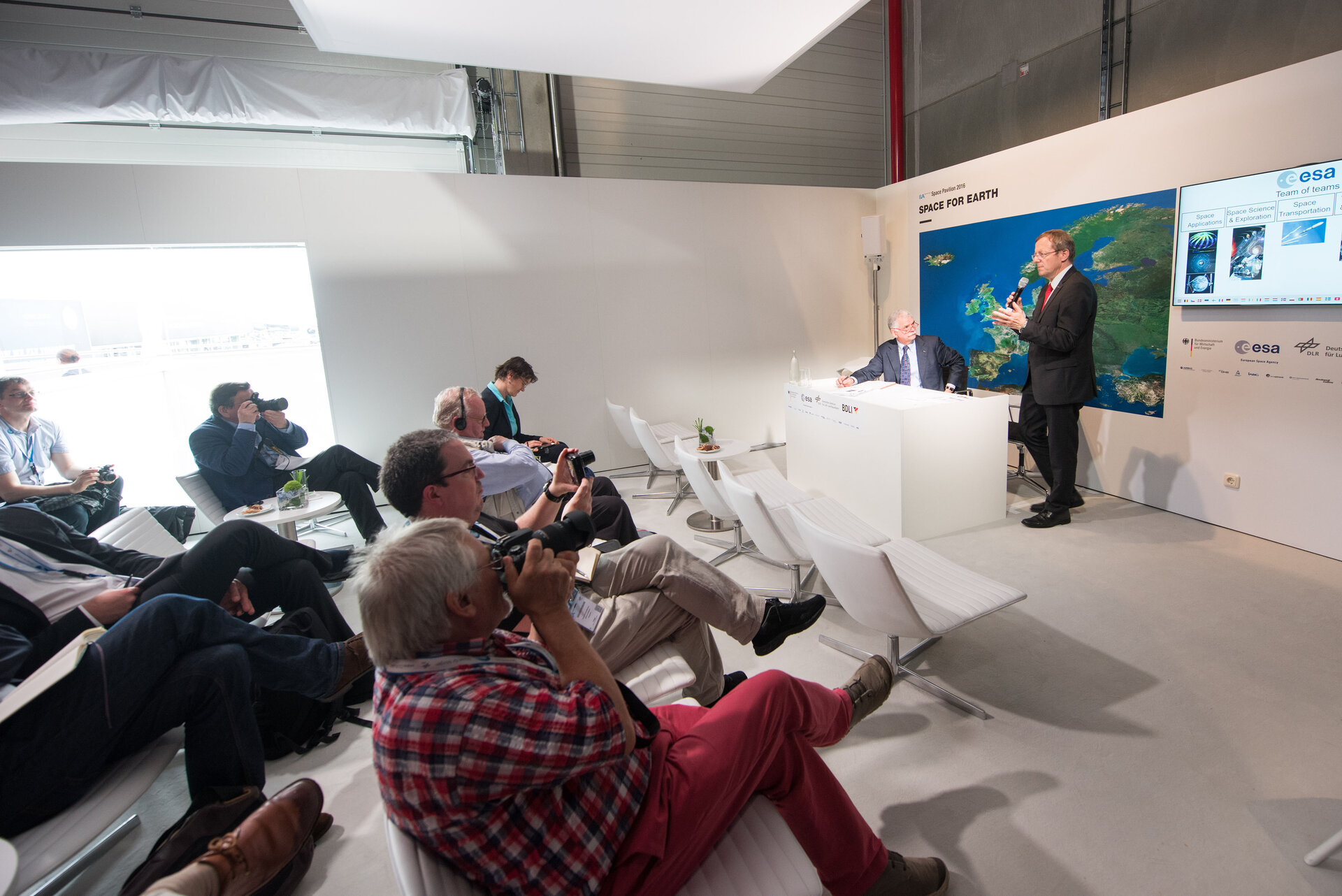 Press conference with Jan Wörner