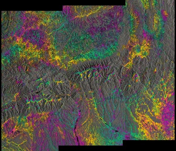 Sentinel-1A and -1B combined