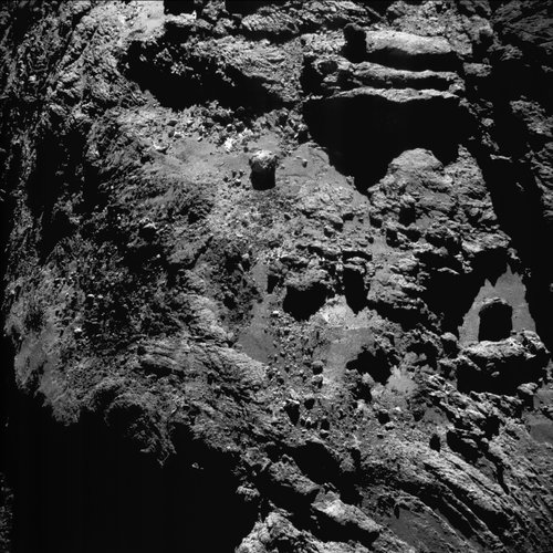 Comet on 9 July 2016 – NavCam