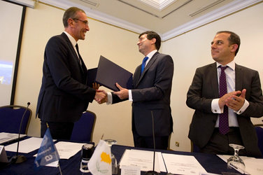 Cyprus signs European Cooperating State Agreement