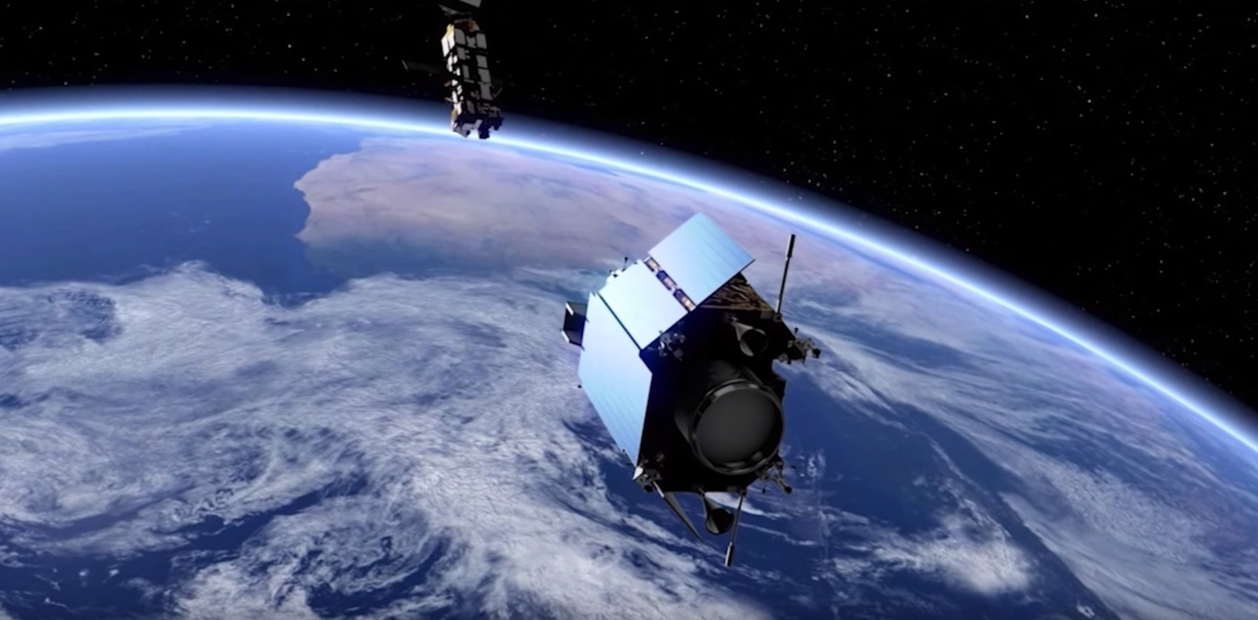 Setting a satellite to catch a satellite / Clean Space / Space ...