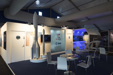 ESA pavilion Farnborough 2016