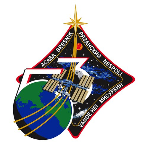 ISS Expedition 53 patch, 2017