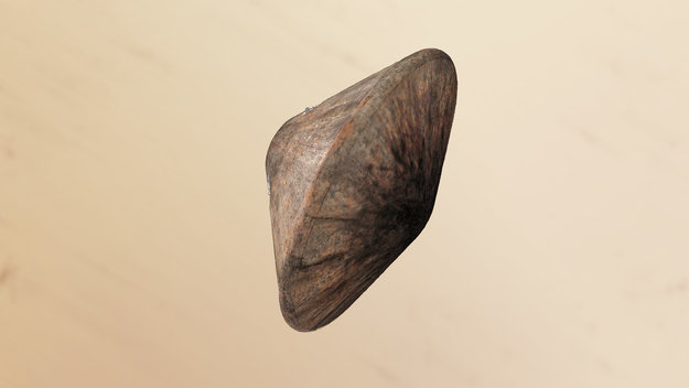 Schiaparelli's heat-scorched shield