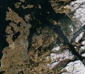Kysten ved Stavanger i Norge