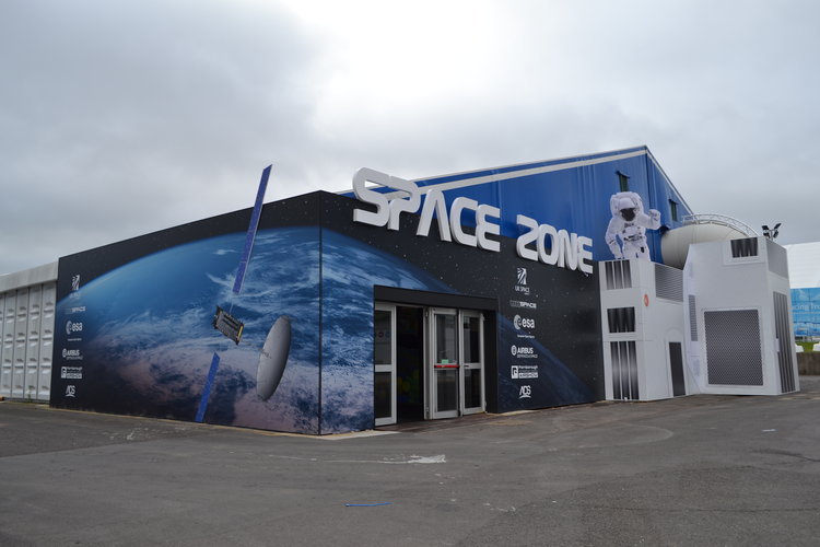 The Space Zone at Farnborough 2016