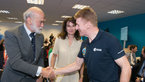 [62/67] Tim Peake meets Prince Michael of Kent