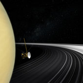 In 2016, NASA's Cassini mission will begin its final 'Grand Finale' and ESA's superbly sensitive deep-space tracking stations will be called in to help gather crucial radio science data.