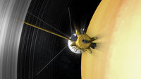 In 2016, NASA's Cassini mission will begin its final 'Grand Finale' and ESA's superbly sensitive deep-space tracking stations will be called in to help gather crucial radio science data