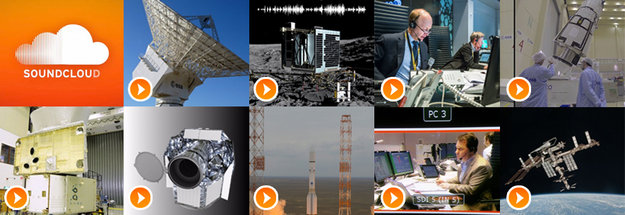 ESA's Soundcloud channel is now official: hear the latest sounds from mission control, the launch pad and deep space, including #SingingComet and the ISS warning alarm, a tone astronauts hope never to hear for real