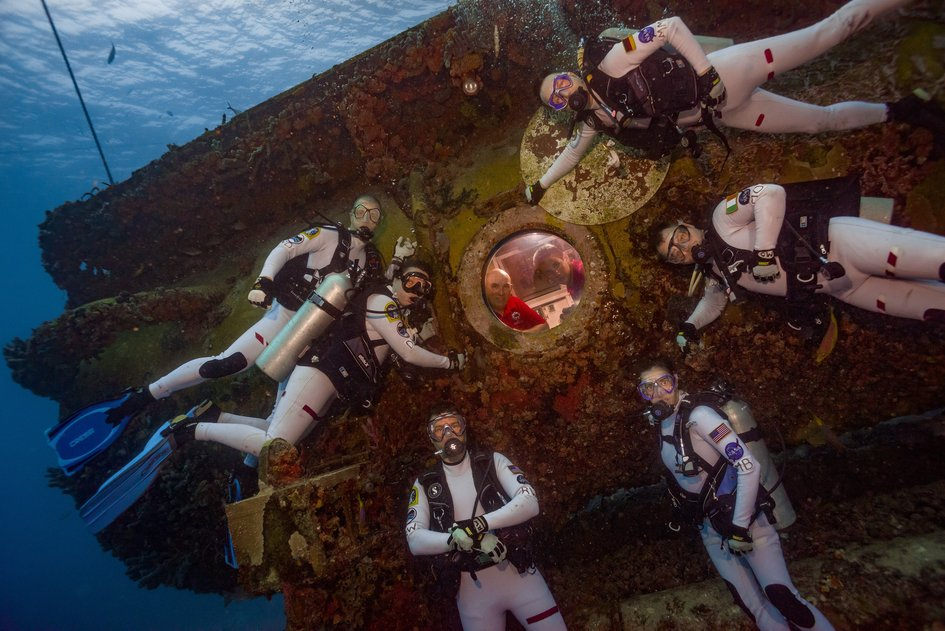 NEEMO mission day 1