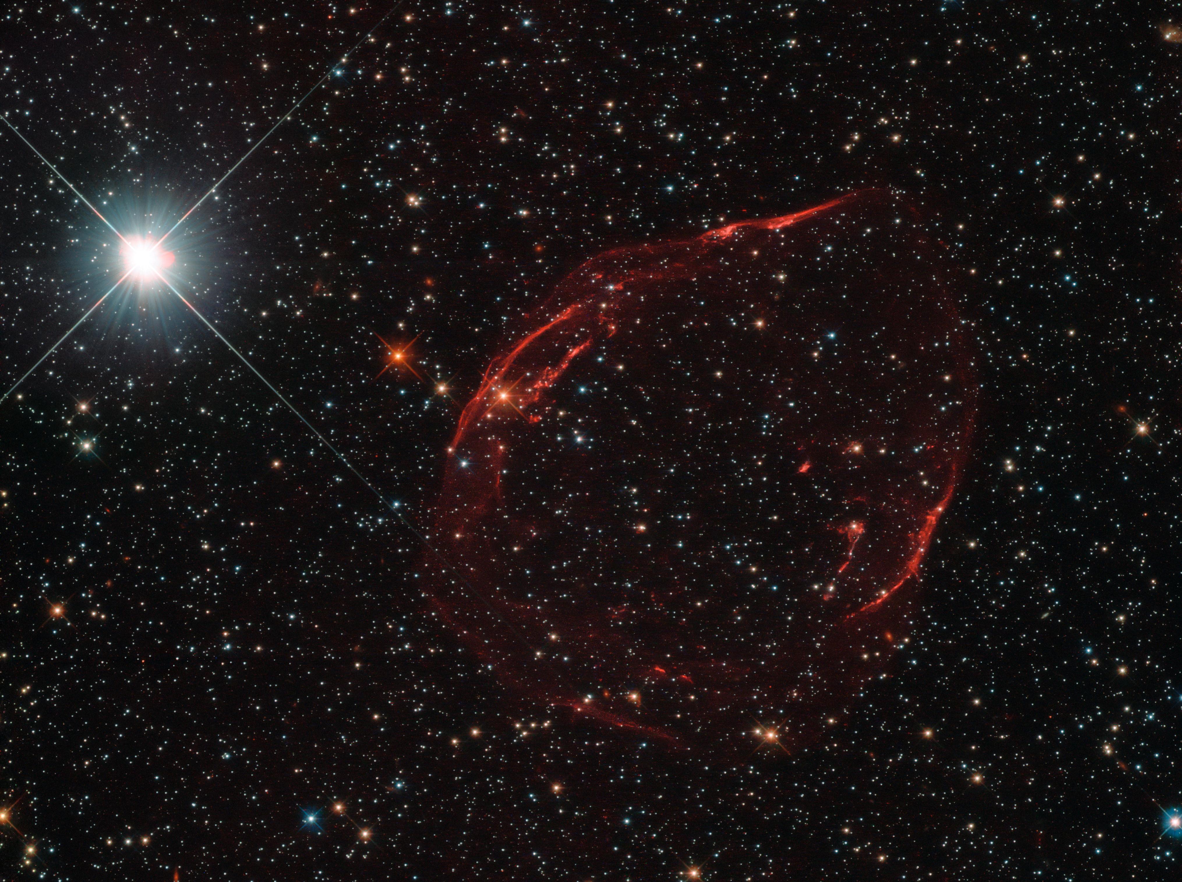 Space in Images - 2016 - 08 - Stellar shrapnel