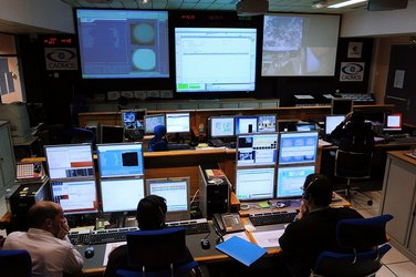French CADMOS control centre