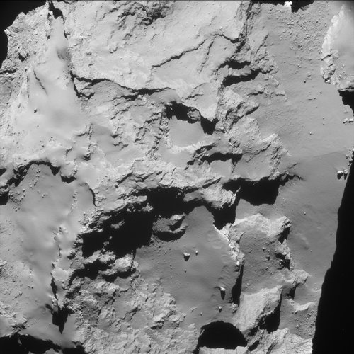 Comet from 20 km – NavCam