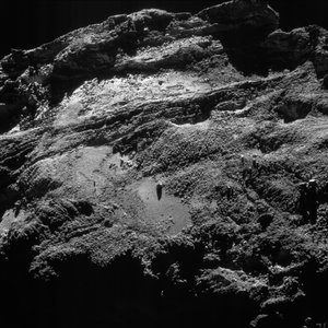 Comet on 11 September 2016 – NavCam