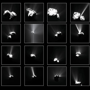 Comet outbursts
