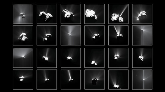 The surprising comet