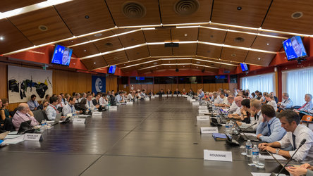 Maroš Šefčovič delivered an address to the ESA Council