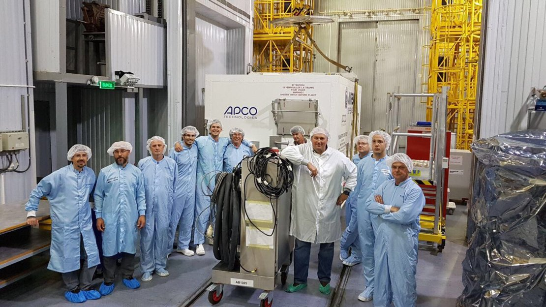 Preparing to unveil Sentinel-5P
