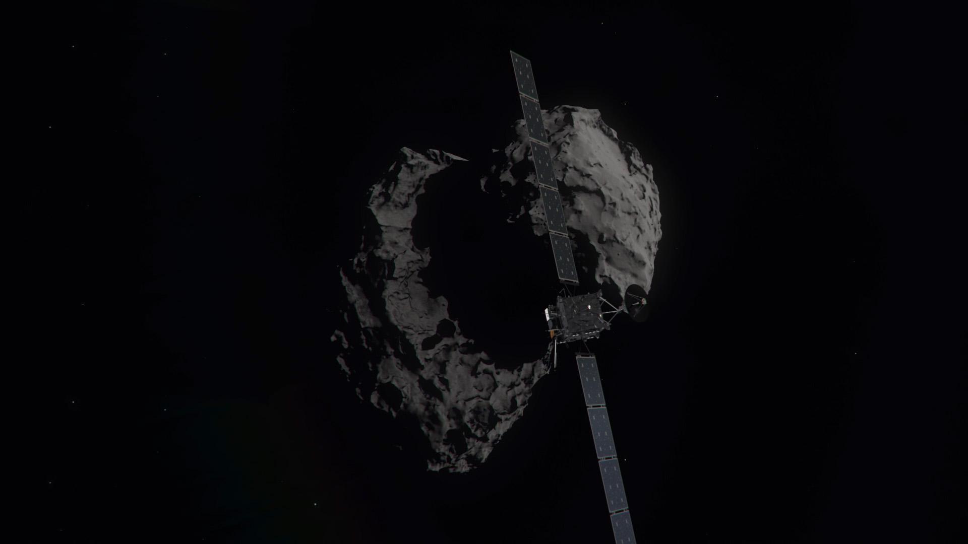 Space in Images - 2016 - 09 - Rosetta's descent