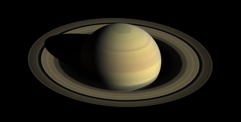 Saturn northern hemisphere