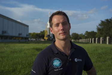Thomas Pesquet at JSC
