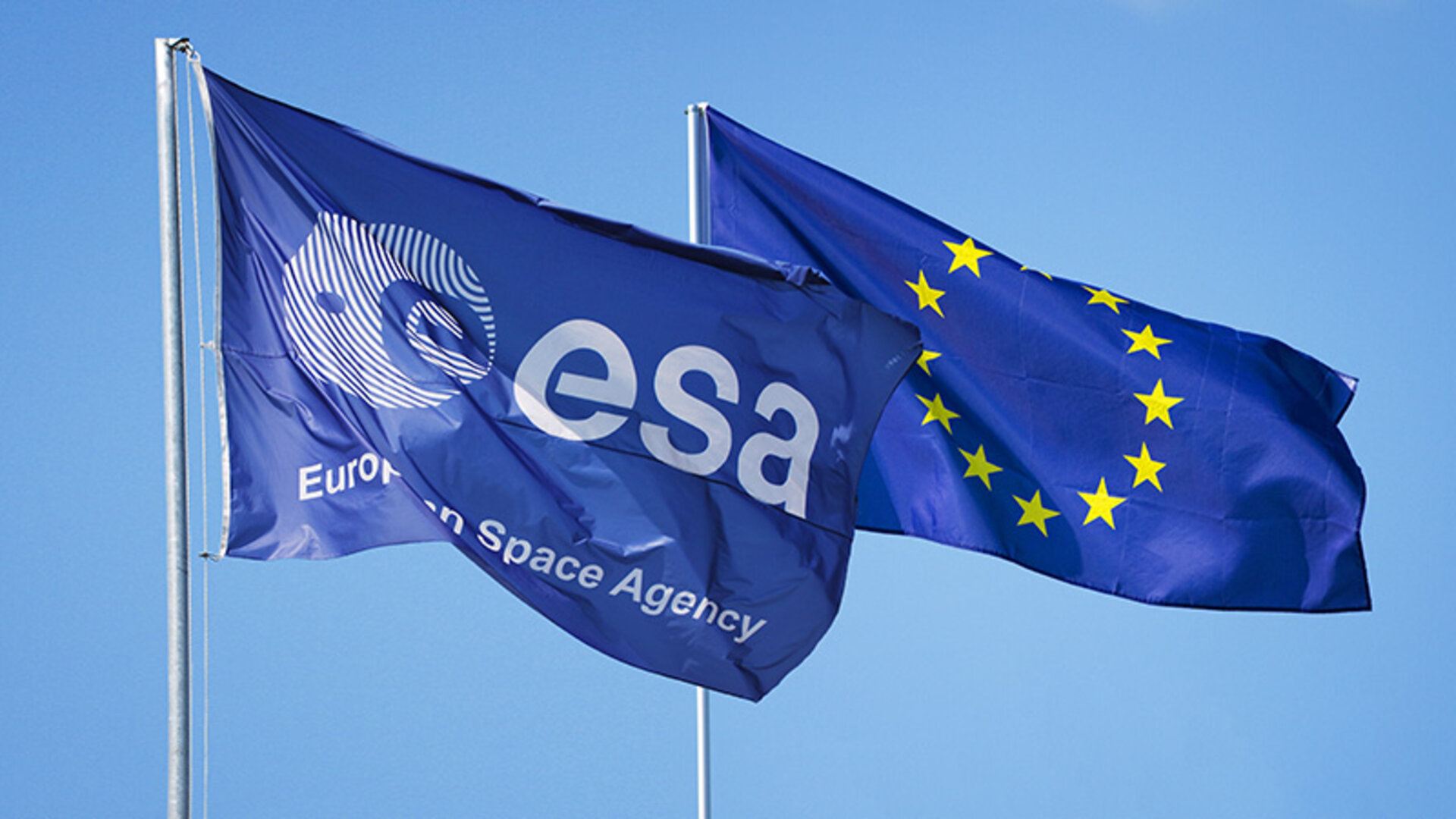 ESA EU flags