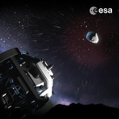 As part of the global effort to hunt out risky celestial objects such as asteroids and comets, ESA is developing an automated 'Flyeye' telescope for nightly NEO sky surveys