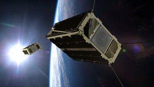 Dansk forvsar første satellit til overvågning agf Arktis