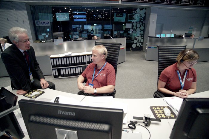 ExoMars/TGO mission controllers at ESOC are now working intensively to prepare the craft, the flight plan and ground systems for the campaign.