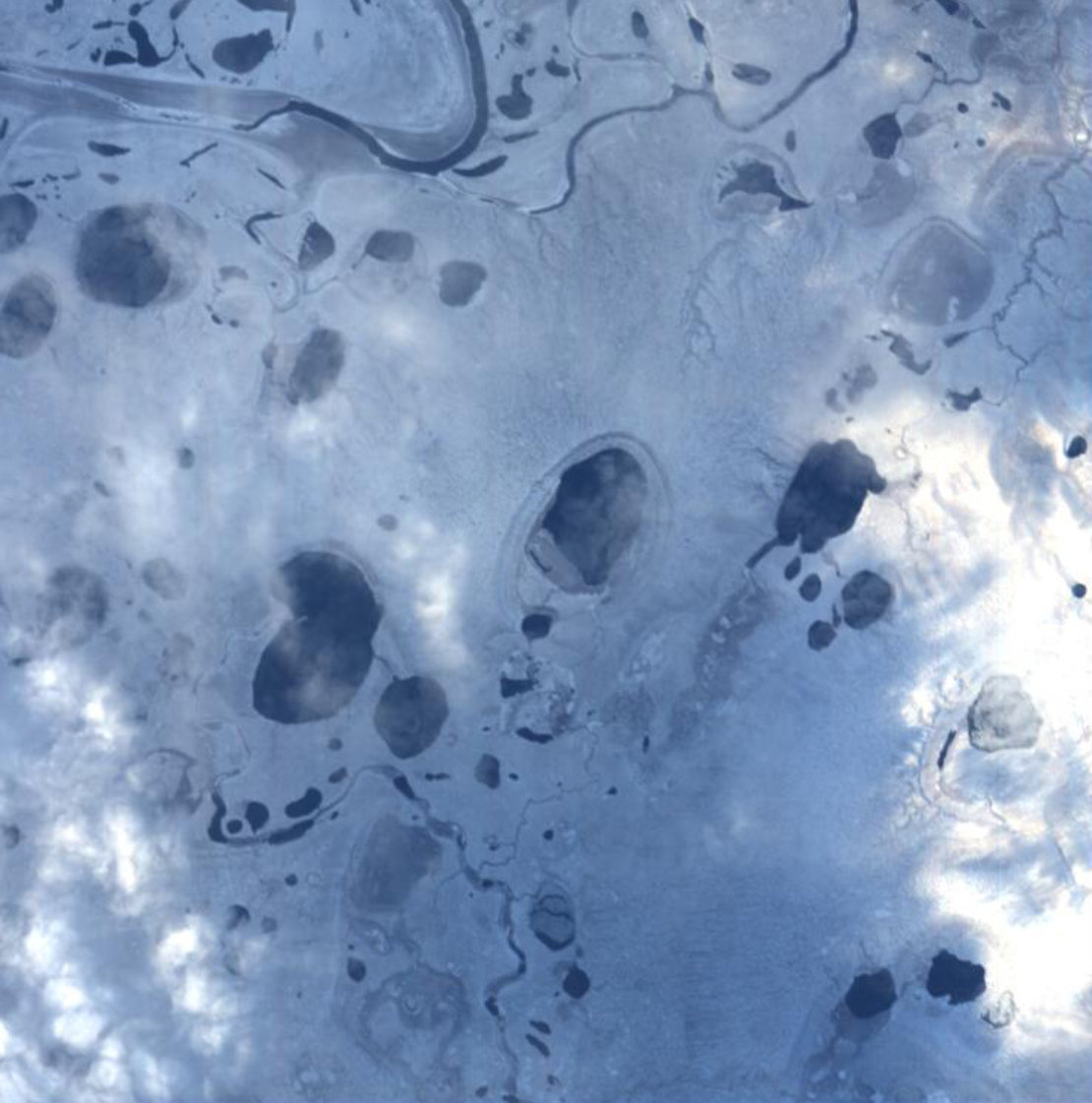Proba-1 view of Lena River Delta
