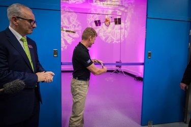 Tim Peake opens electric propulsion centre