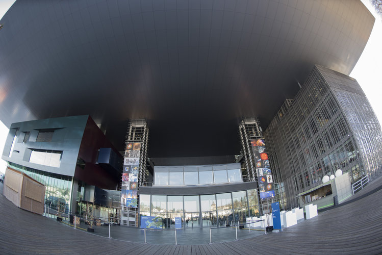 Entrance of the Culture and Convention Centre Lucerne (KKL)
