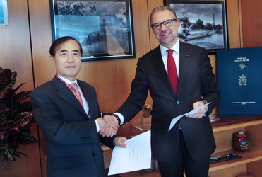 ESA and Asian Development Bank sign agreement